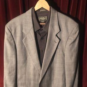 VTG Hugo Boss Sport Coat Blazer Grey
